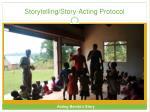 storytelling story acting protocol9