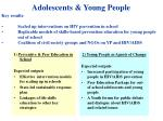 adolescents young people