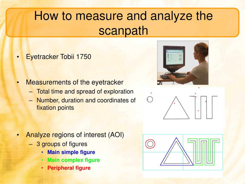 How to measure and analyze the scanpath