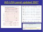 ias usa panel updated 2007