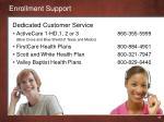 enrollment support