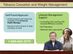 tobacco cessation and weight management