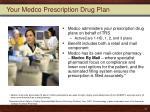 your medco prescription drug plan