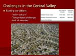 existing conditions valley culture transportation challenges lack of amenities