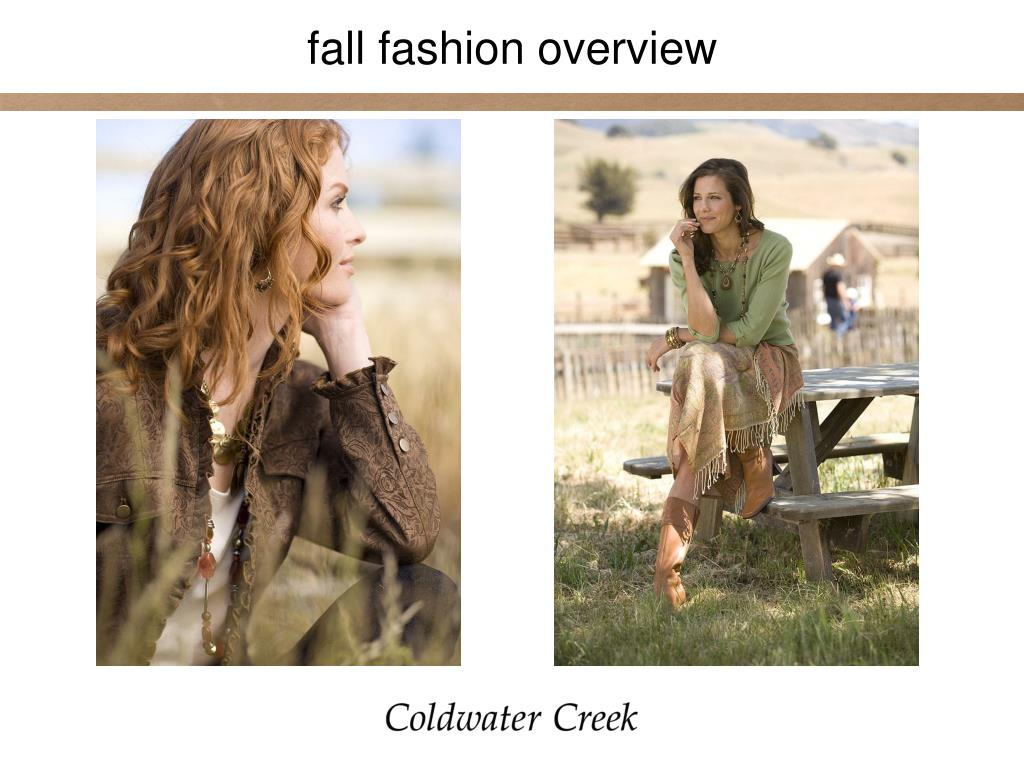fall fashion overview
