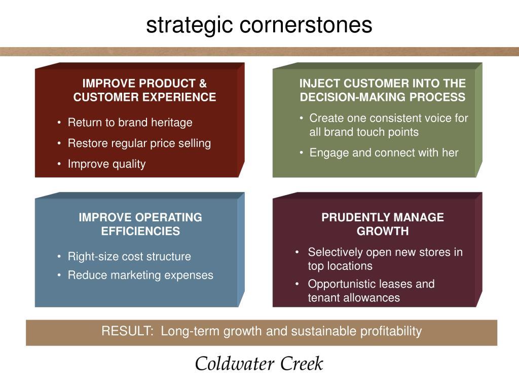 strategic cornerstones