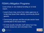 fema s mitigation programs20