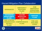 hazard mitigation plan collaboration