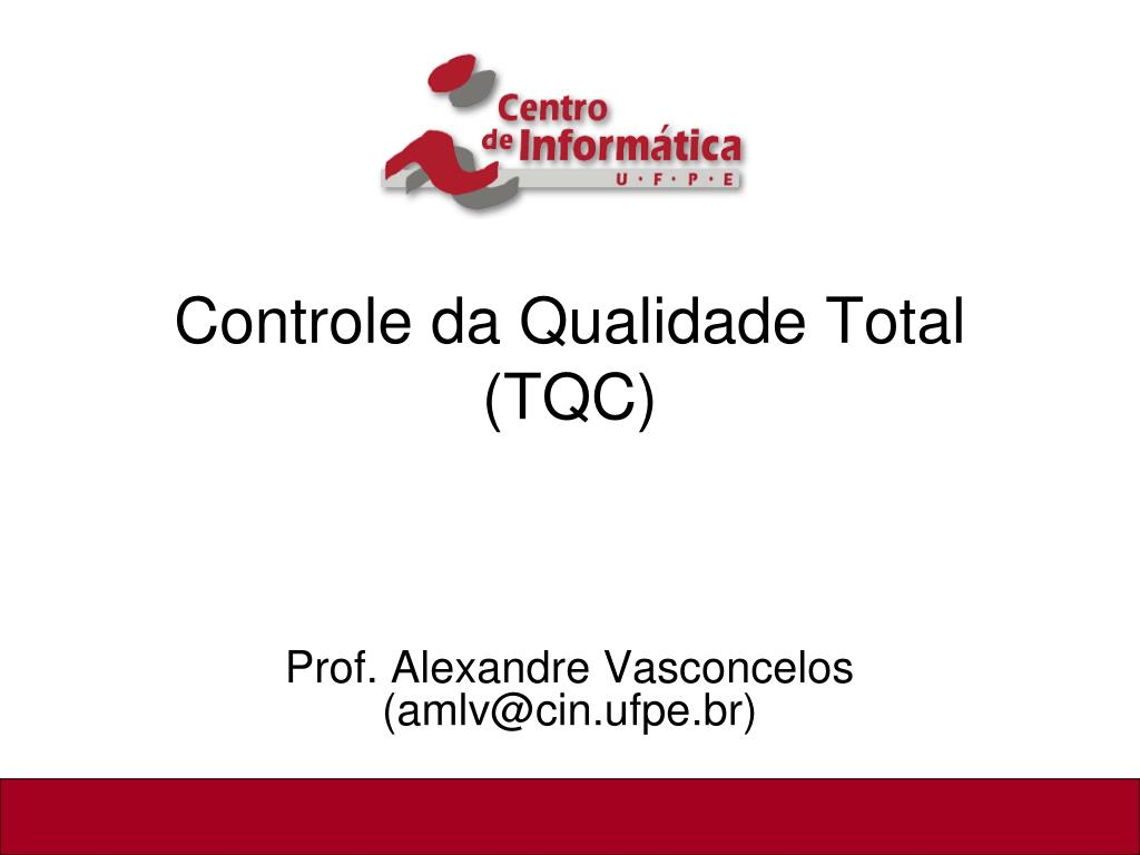 controle da qualidade total tqc l.
