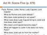 act iii scene five p 979