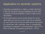 application to semiotic systems