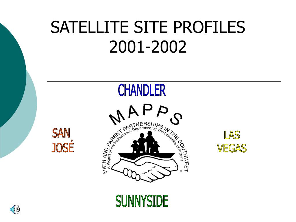 satellite site profiles 2001 2002 l.