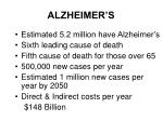 alzheimer s