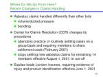where do we go from here recent changes in claims handling