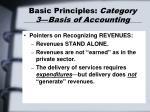 basic principles category 3 basis of accounting27
