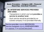 basic principles category 4 b financial reporting interfund transfers34