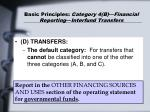 basic principles category 4 b financial reporting interfund transfers36