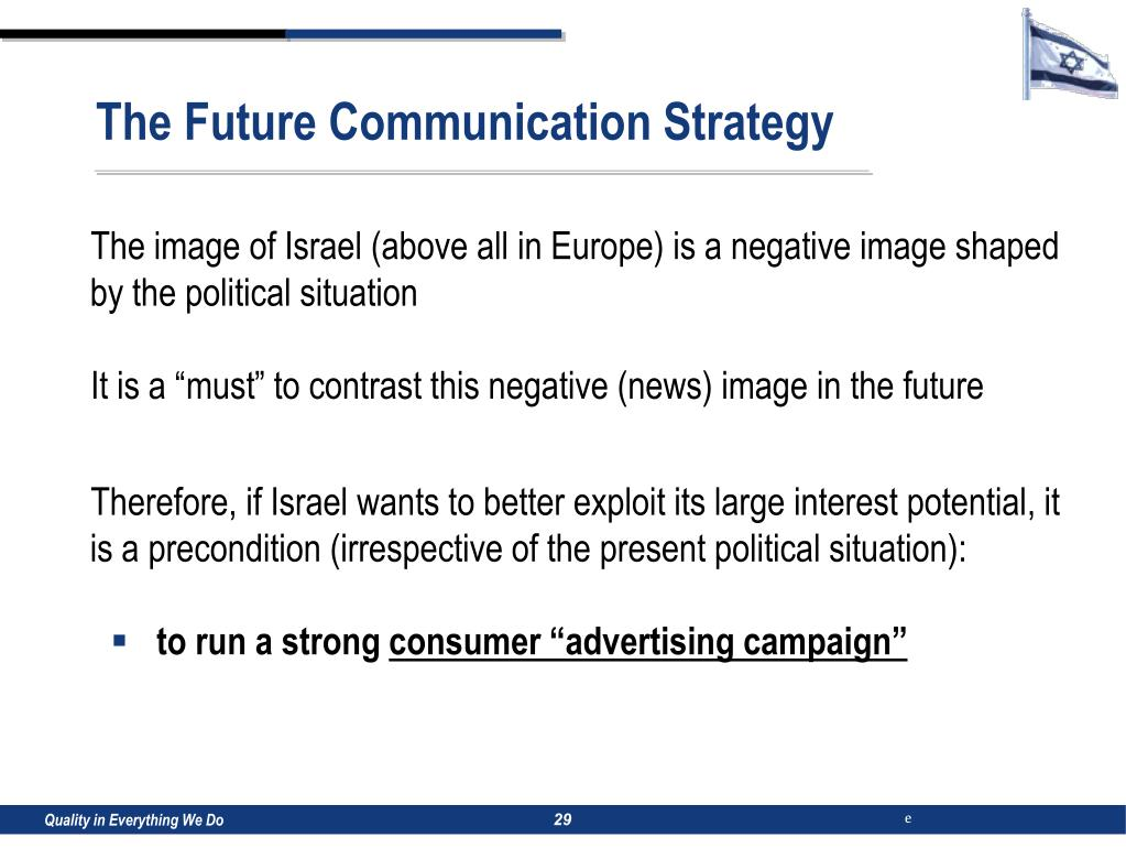 The Future Communication Strategy