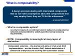 what is composability