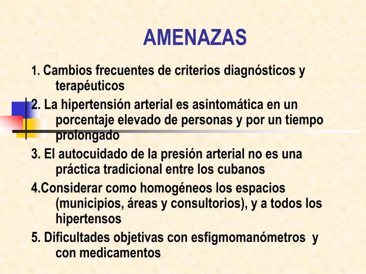AMENAZAS