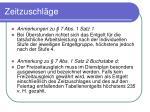 zeitzuschl ge24