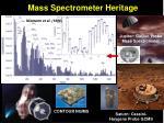 mass spectrometer heritage