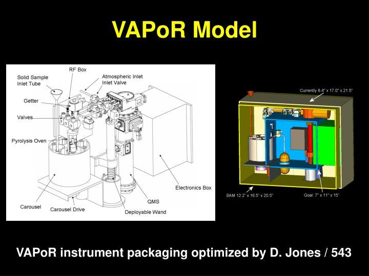 VAPoR Model