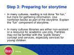 step 3 preparing for storytime36
