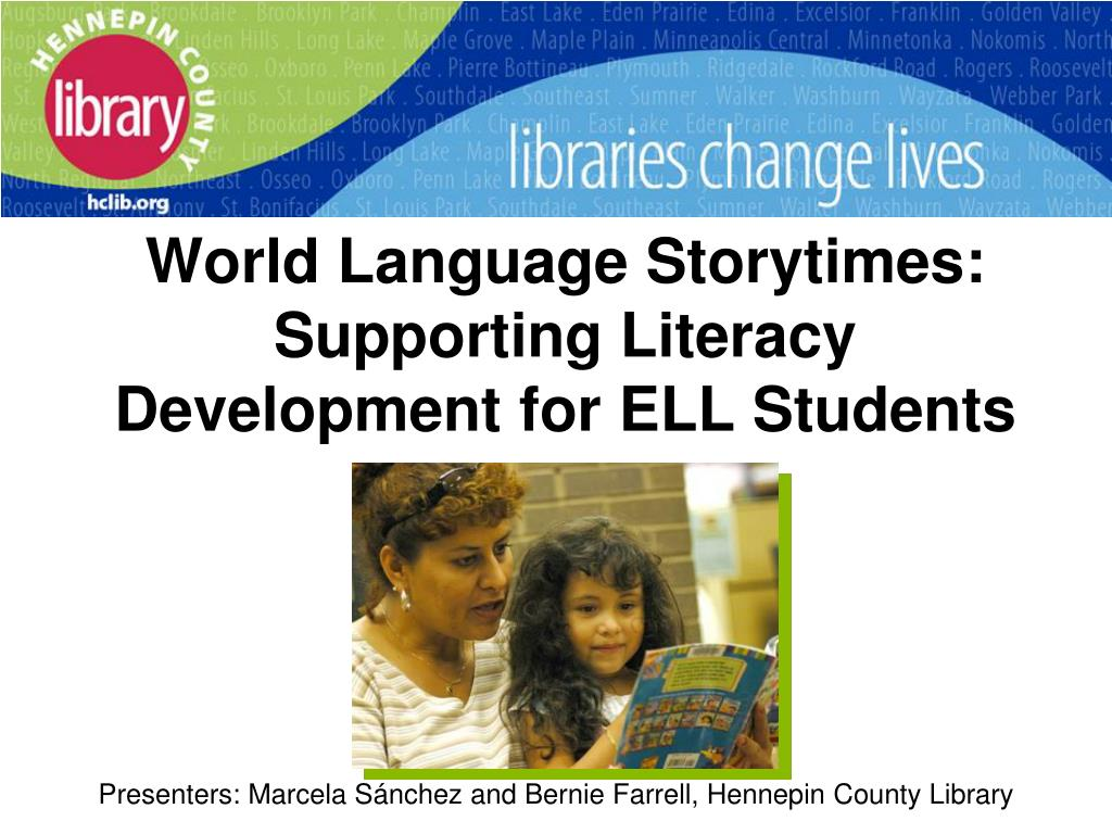 world language storytimes supporting literacy development for ell students l.