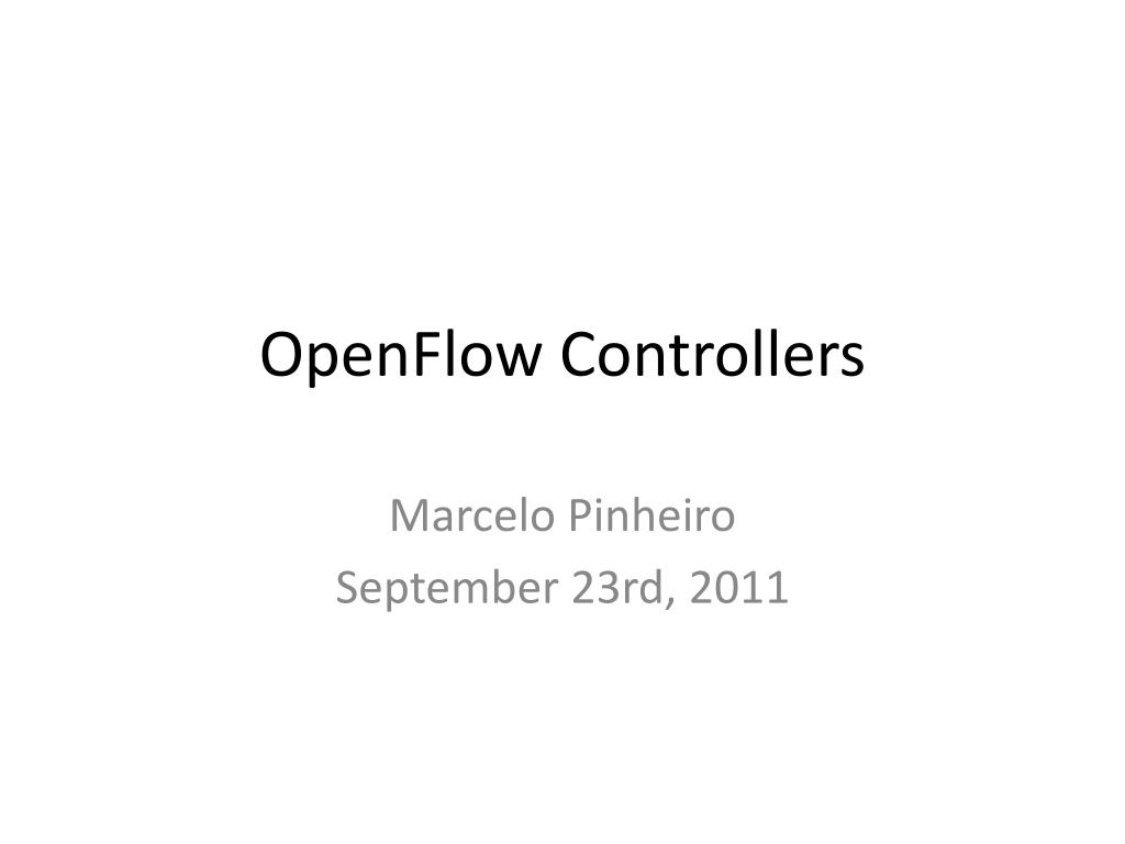 openflow controllers l.