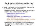 problemas f ciles y dif ciles