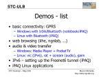 demos list
