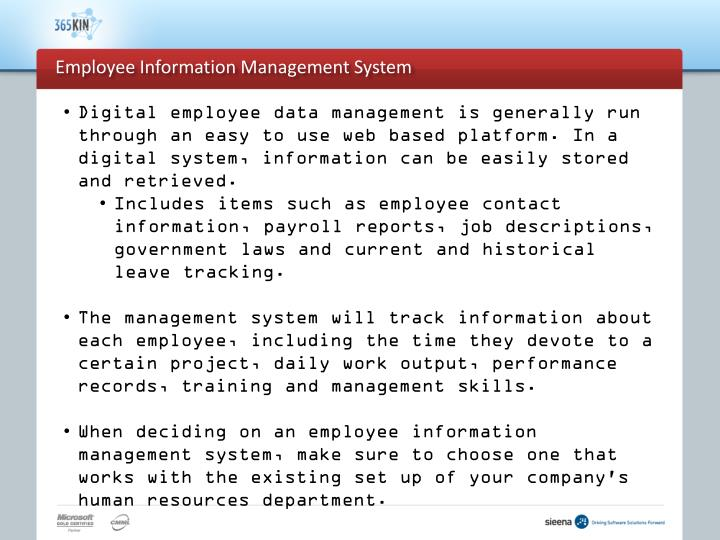 Employee information management system3