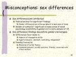 misconceptions sex differences1