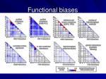 functional biases