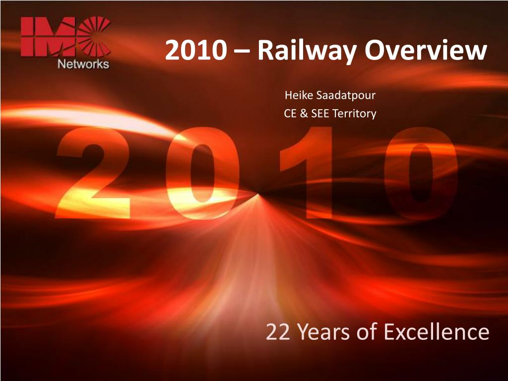 2010 railway overview l.