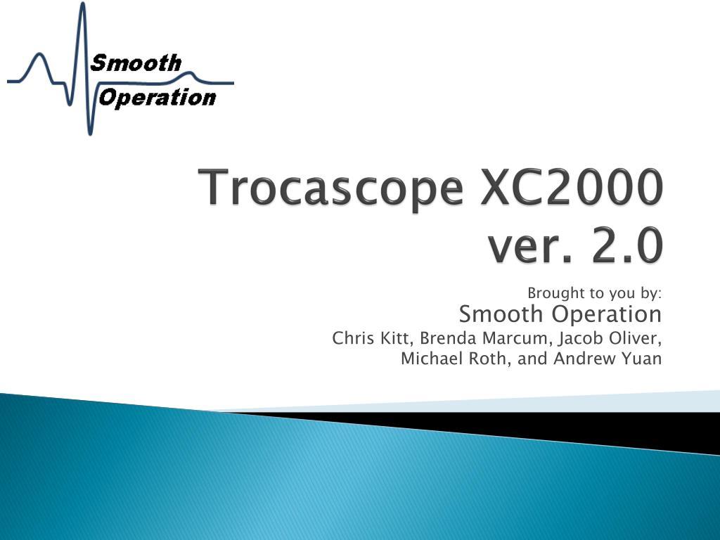 trocascope xc2000 ver 2 0 l.