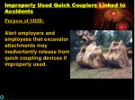 improperly used quick couplers linked to accidents40