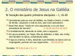 2 o minist rio de jesus na galil ia12