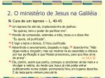 2 o minist rio de jesus na galil ia18