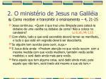 2 o minist rio de jesus na galil ia42