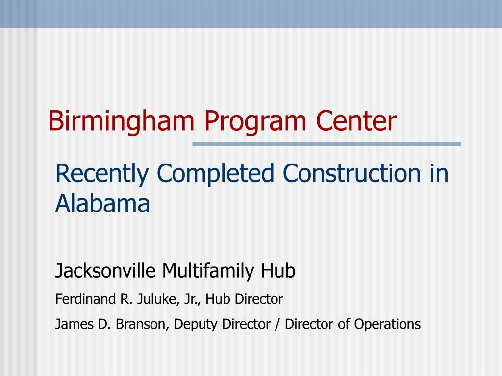 birmingham program center l.