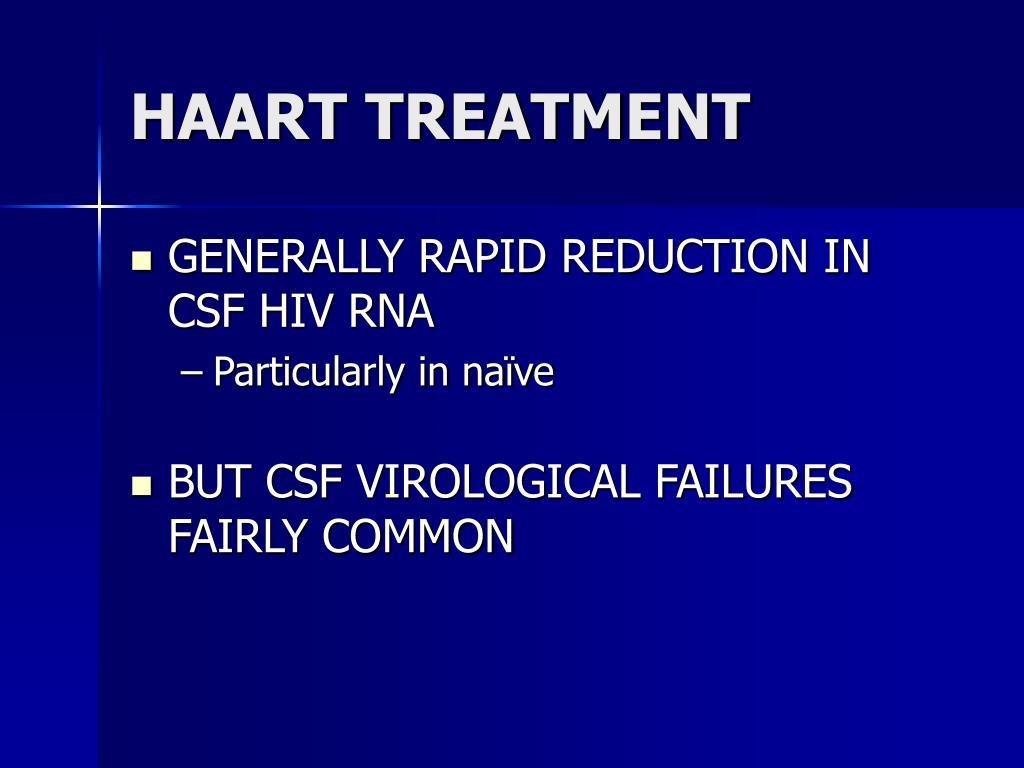 HAART TREATMENT