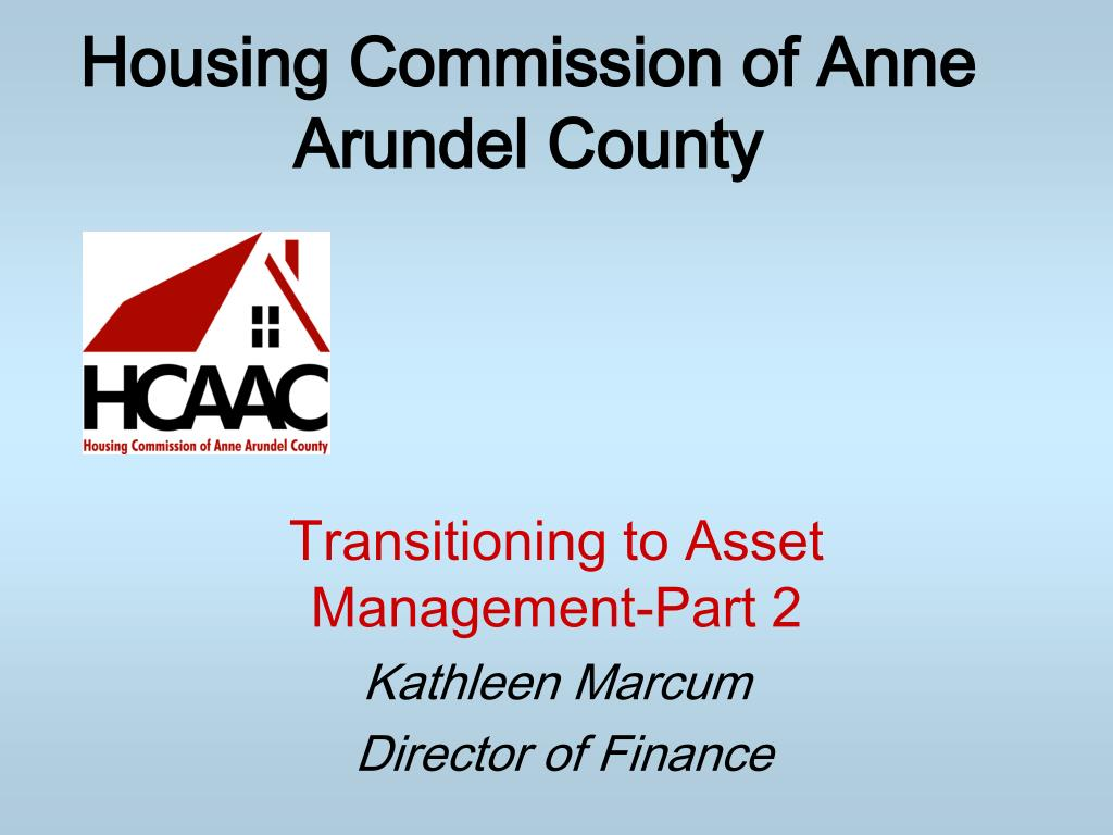 housing commission of anne arundel county l.