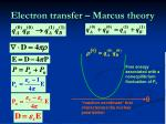 electron transfer marcus theory1