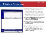 attach a document