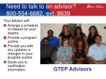 need to talk to an advisor 800 554 6682 ext 8639