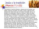 jes s y la tradici n marcos 7 1 2311