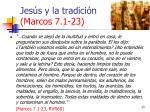jes s y la tradici n marcos 7 1 2313
