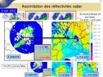 assimilation des r flectivit s radar9